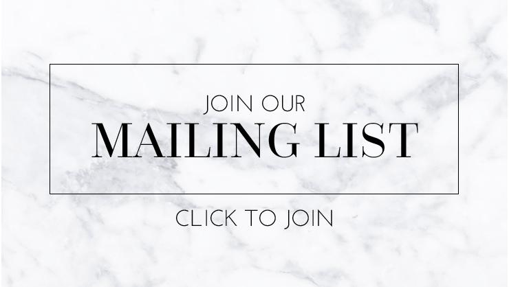 Mailing list copy